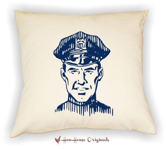 Items Similar To Police Officer Gift Police Pillow