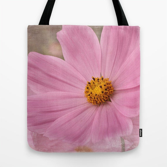 Cosmos Photo Tote Bag, Everyday Bag, Tote Bag, Tote, Photography, Flower, Floral, Garden, Teacher Gift, Gift Ideas, Nature Lover, Gifts