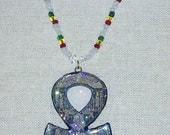 Royal Touch Rastafari African Ankh Pendant Necklace