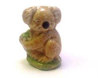 Wade Whimsie: Koala Figurine - 1979