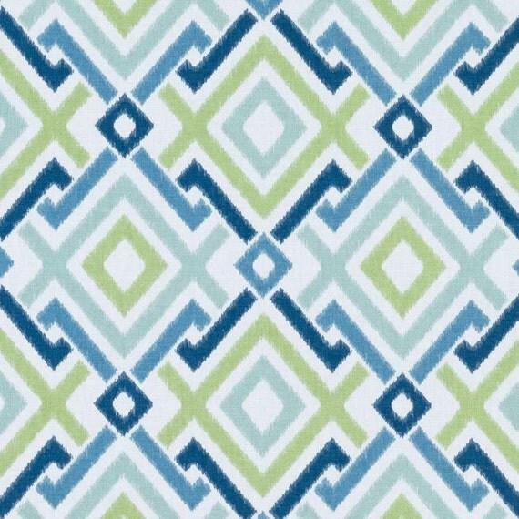 navy blue geometric upholstery drapery fabric by popdecorfabrics. Black Bedroom Furniture Sets. Home Design Ideas