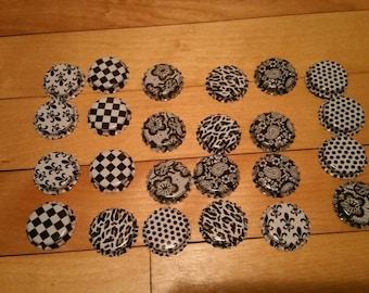 24 bottle caps