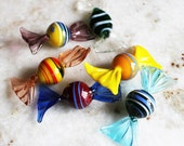 Murano Glass Candy Six Pieces