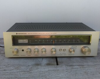 Vintage Kenwood AM/FM Receiver KR-2090 Audio Equipment Stereo