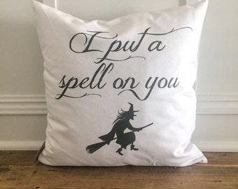 Halloween Witch Pillow Cover