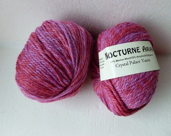 Sale Raspberry 623 Nocturne Aran by Crystal Palace