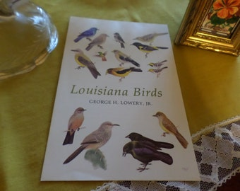 Vintage Pamphlet/Booklet Reference Print Pages-Louisiana Birds by George H Lowery Jr-LSU Press-Baton Rouge