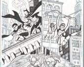 Young Justice #16 DC Comics Original Cover Art