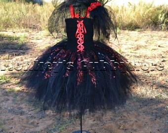 Dark Bride Tutu Costume