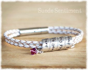 Personalized Jewelry • Best Friend Gift • Womens Bracelet • Long Distance Friendship Gift • Sister Gifts