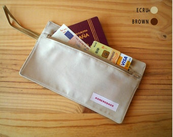 Secret waist wallet / Travel secret pocket
