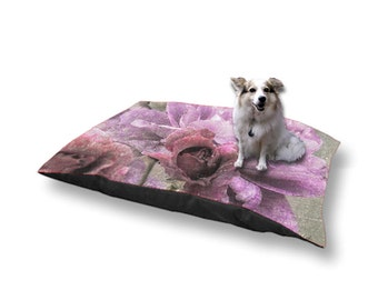 Pet Bed Dog Bed Dusty Pink Rose 18x28 30x40