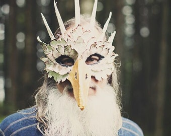 "Paper Mache ""King Eagle"" Mask"