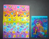Lisa Frank Stationery Notepad Stickers Vintage Kitten Cat