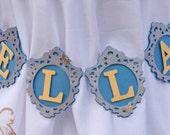 Cinderella Banner - Decorative Frame - Custom Name Banner