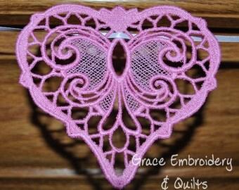 Lace Valentine's Day Banner/Garland