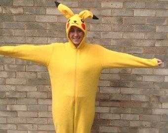 pikachu costume etsy - Pikachu Halloween Costume Women