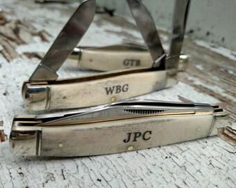 Father Of The Bride Gift, Pocket Knife, Engraved Knife, Father Of The Bride, Personalized Pocket Knife, Groomsmen Gift, Groomsman Knife