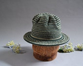sun hat. cotton hat for beach, travel, artisan made with eco friendly fibers hemp and cotton, hat with brim, mothers day gift, garden