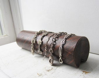 Round Bracelet Display Made from Salvaged Antique Oak  - READY TO SHIP - 5 Available