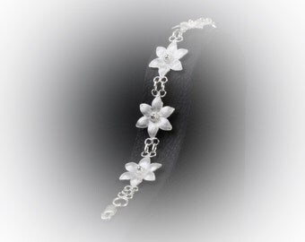 Bracelet Silver Lotus