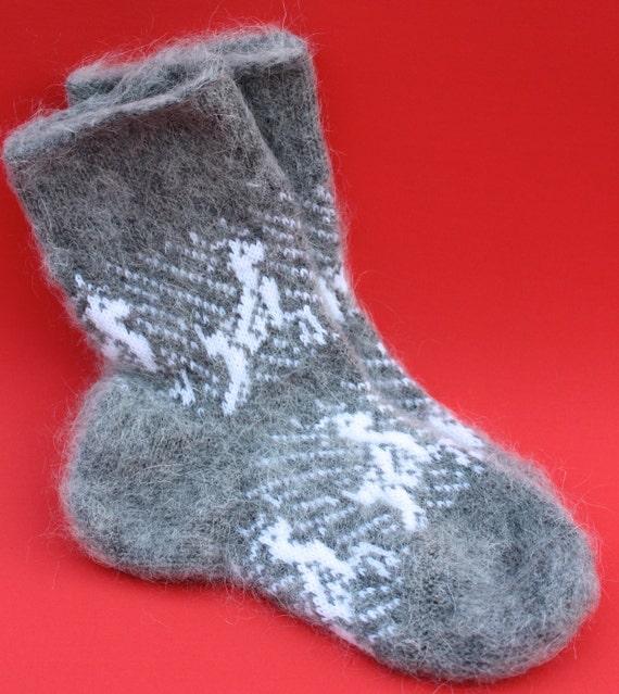Organic WOOL Socks / Goat Hair / Therapeutic Socks / Bedroom