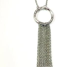 Tessla Tassel Necklace