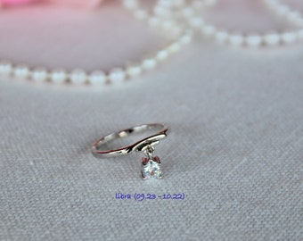 Constellations Adjustabe Ring/ Toe Ring Libra