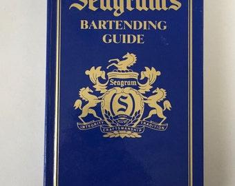 Seagram's Bartending Guide Illustrated Drink Recipes 1995 Very Good conditon