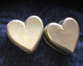 Vintage Heart Shaped Cake Pans