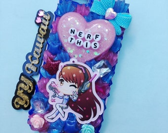 Custom Decoden Overwatch inspired phone case for iPhone 4/4s, 5, 6 6 Plus samsung galaxy and more