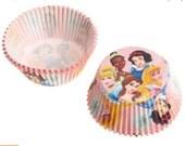 50 Disney Princess Cupcake Liners/Cups