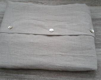 Linen DUVET COVER - duvet cover natural - bed linen grey - linen bedding - queen duvet cover - king duvet cover - custom duvet cover