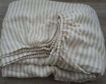 linen fitted sheet striped fitted sheet queen fitted sheet deep pocked sheet