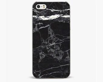 Black Marble iPhone 5 / 5s Case, iPhone 6/6S Plus Case, iPhone 5/5S Cases, iPhone 5C Case, iPhone 4/4S Cover