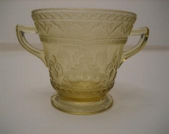 Federal Glass Patrician Sugar Bowl
