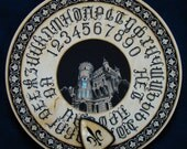 "Ouija board - Spirit board - Talking board ""Secret of the Old Mansion"" / Any Alphabet & Free Shipping"
