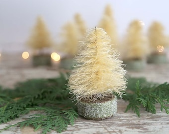 Handmade Sisal Tree, Sisal Christmas Tree, Natural Sisal Tree, Primitive Sisal Tree, Handmade Bottle Brush Tree, Rustic Sisal Tree
