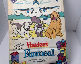 Vintage Kids Meal Bag Homeward Bound 2