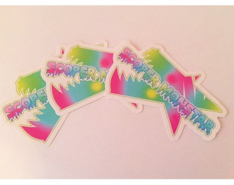 Scoper Monstar Vinyl Stickers