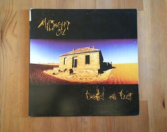 "MIDNIGHT OIL Diesel and Dust - Vintage Vinyl 12"" 1988"