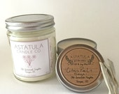 CITRUS PEEL + SAGE // Soy Wax Candle //  4oz Tin - mini travel candle