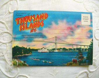 Thousand Islands Postcard Folder