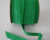 "Kelly Green Bias Tape Extra Wide 1/2"" Double Fold 75 Yards Wholesale"