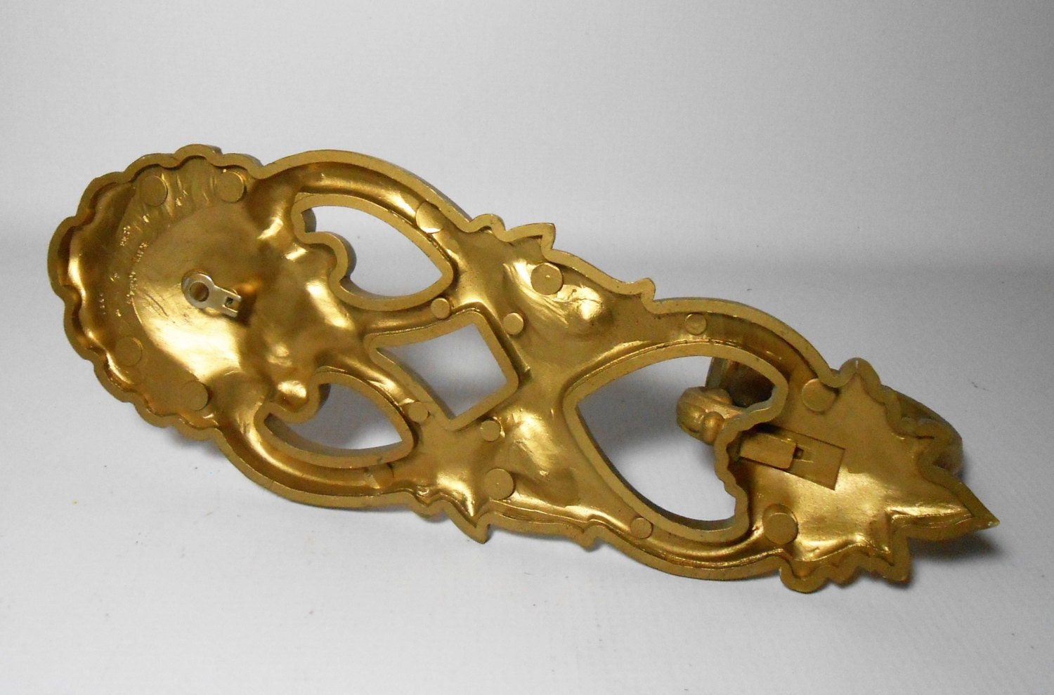 Vintage Candle Holders, Sconces, Gold, Ornate, Wall Sconce, Homco ...