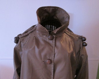 Fashion ladies polyester raincoat / waterproof polyester Ladies
