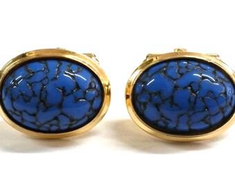 Vintage Blue Destino Cufflinks