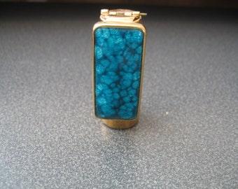 Vintage Brevete Lipstick Tube Holder With Mirror From France