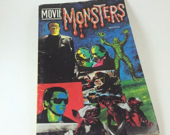 Universal Monsters Movie Monsters book Gary Poole 1980s Dracula Frankenstein Gremlins