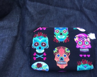Day of the Dead Wristlet/Coin Purse 3